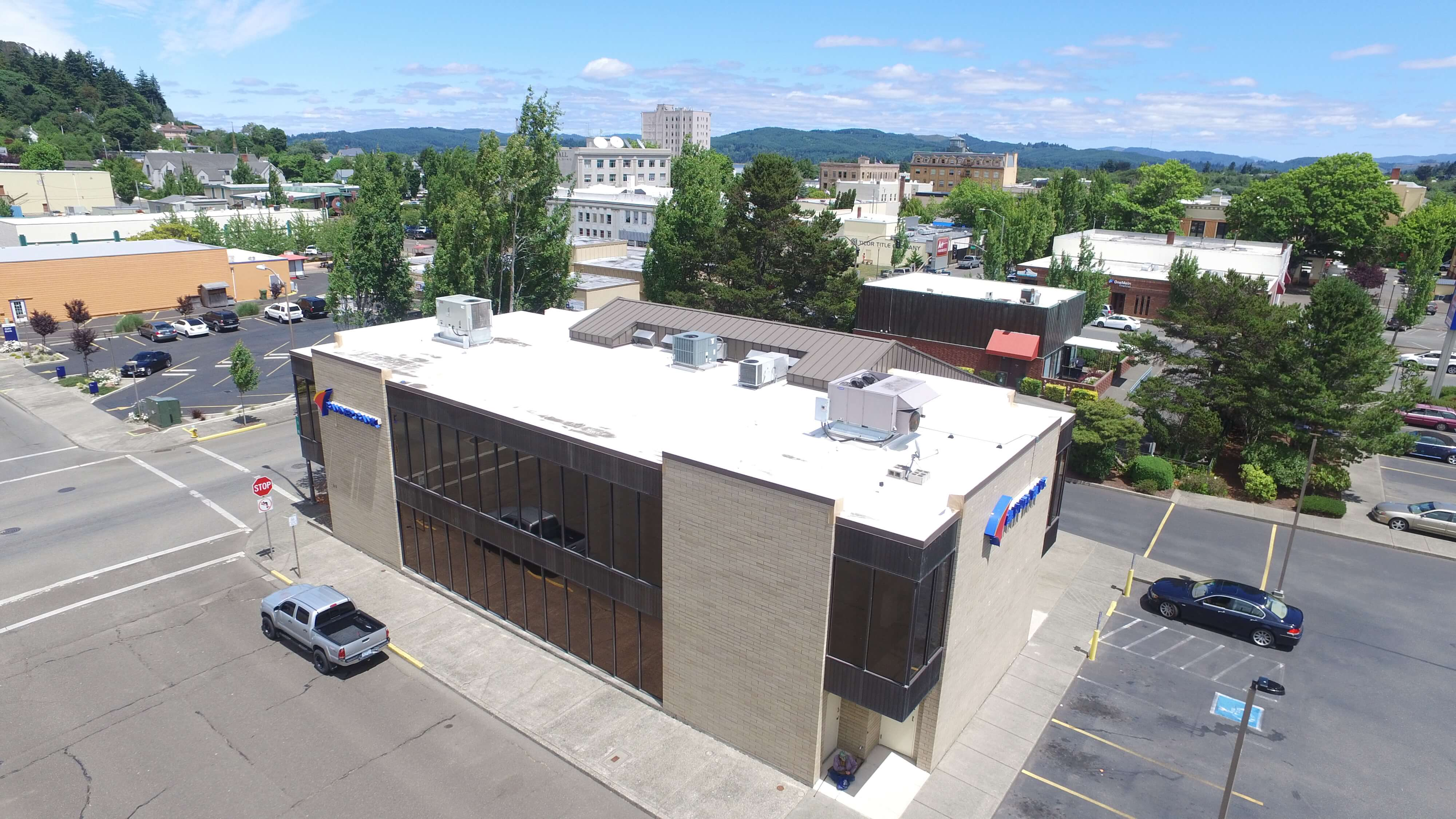 Bank Roof Installation Oregon Bank Roof Repair Class A