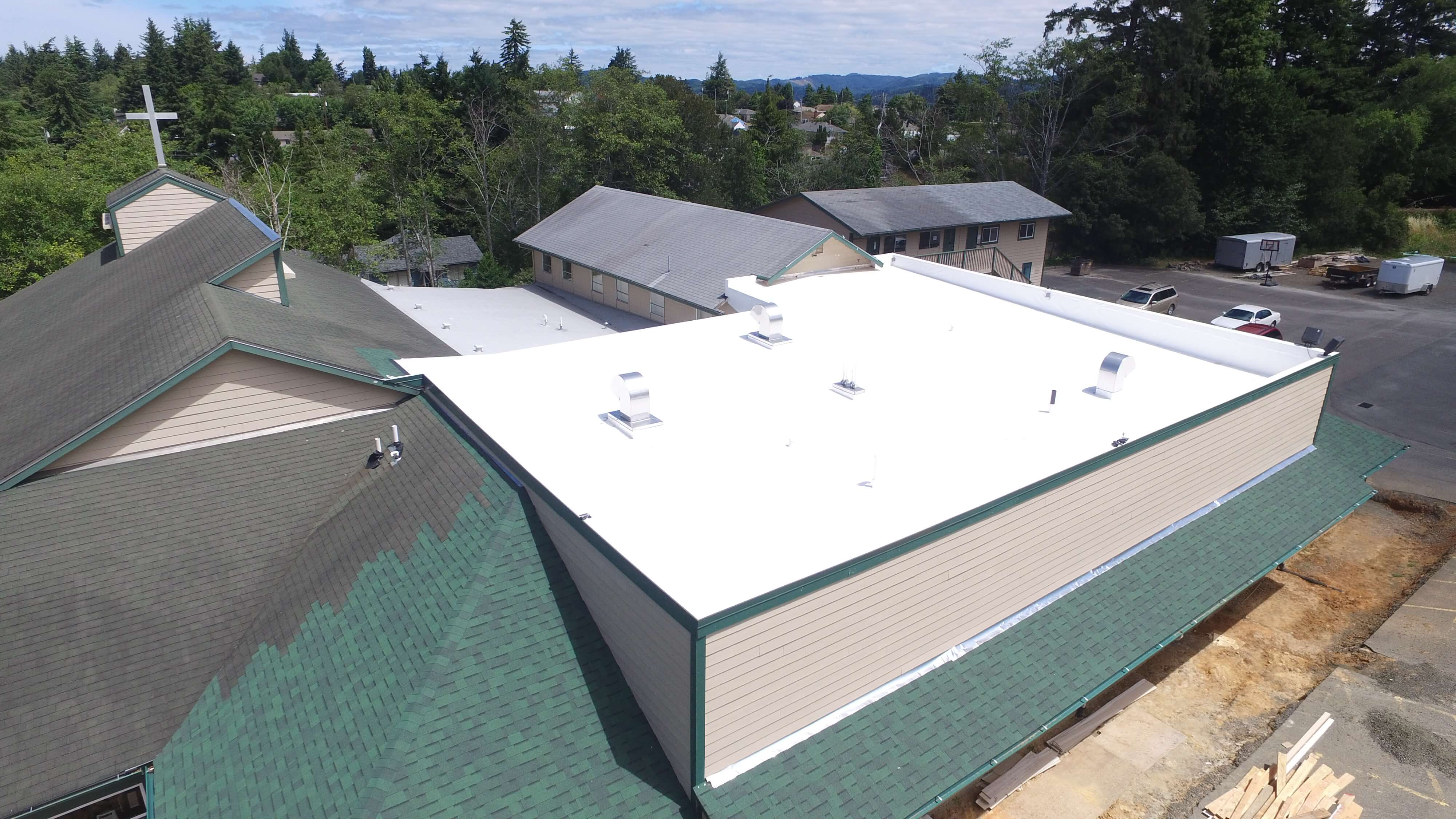 Commercial Church Roofing Oregon Church Roof